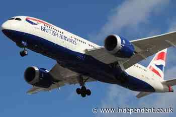 Coronavirus: British Airways offers passengers chance to switch flights for free to avoid UK quarantine - The Independent