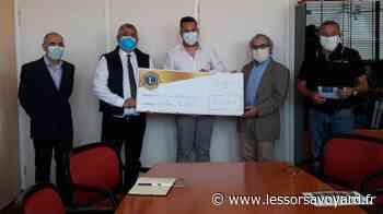 Thonon-les-Bains : remise d'une cagnotte de 31000 euros aux Hôpitaux du Léman. - lessorsavoyard.fr