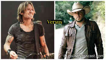 Keith Urban versus Jason Aldean (Most Popular Music Video Face-off) - Country Fancast