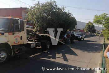 Tras persecución y tiroteo, dos robacoches son capturados, en Uruapan - La Voz de Michoacán