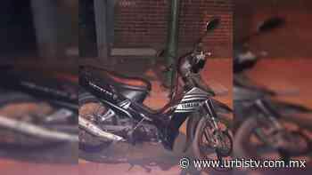 Recupera SSP motocicleta robada en Uruapan - UrbisTV