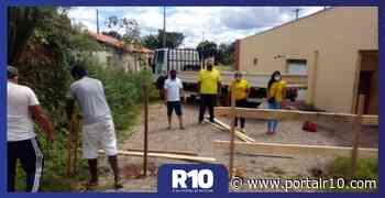 Prefeitura instala barreiras para controlar fluxo de pessoas em Água Branca - Portal R10