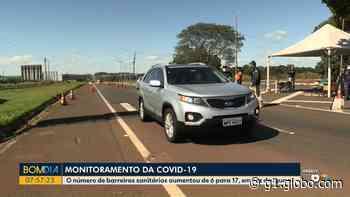 Coronavírus: Confira os pontos com barreiras sanitárias em Foz do Iguaçu - G1