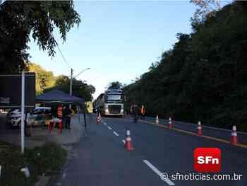 Barreiras sanitárias funcionam em quatro pontos de Cantagalo - SF Notícias