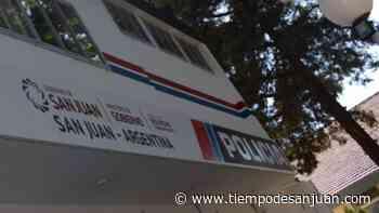 Chocó un móvil de la Brigada en Concepción y un policía resultó herido - Tiempo de San Juan