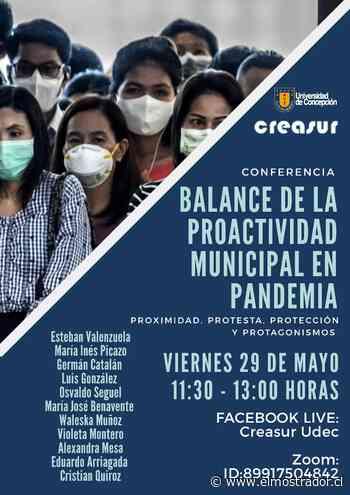 """Conferencia online realizada por la Universidad de Concepción hará un """"balance de la proactividad municipal en la Pandemia"""" - El Mostrador"""