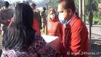 Partió entrega de canastas familiares en la Provincia de Concepción - 24Horas.cl