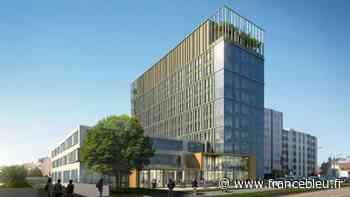 Tour Sigma à Dijon : les premiers locataires emménagent, la phase 2 des travaux démarre - France Bleu