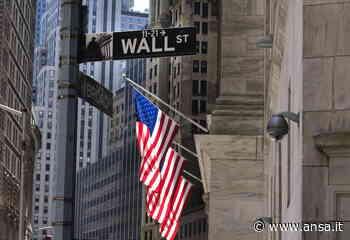 Wall street chiude in calo, Dj -0,58% - Agenzia ANSA