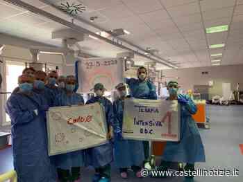 Ariccia, Ospedale dei Castelli in festa: dimesso l'ultimo paziente Covid-19 in terapia intensiva - Castelli Notizie