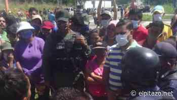 Vecinos de Ciudad Tavacare en Barinas protestan luego de 24 horas sin electricidad - El Pitazo