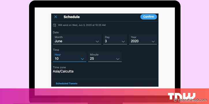 Twitter now lets you schedule tweets — here's how