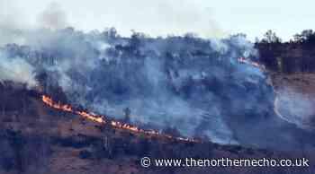 Fire brigade tackling deliberate fires on Eston Hills - The Northern Echo