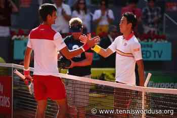 ThrowbackTimes Madrid: Novak Djokovic earns important win over Kei Nishikori - Tennis World USA