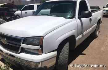 Detectan en Cuauhtémoc pick up robada en Delicias - La Opcion