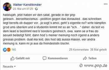 """Bierzelt-Sexismus? Beim """"Donaulied"""" spalten sich die Meinungen - Passauer Neue Presse"""