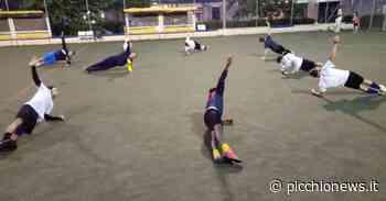 Cantine Riunite Tolentino, la prima squadra torna ad allenarsi all'aperto - Picchio News