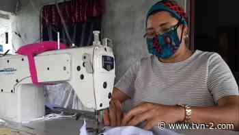 Moradores de Caimitillo y Alcalde Díaz se beneficiarán con donación de mascarillas artesanales - TVN Panamá