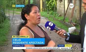 Nacionales Sigue la preocupación entre afectados por inundaciones en Caimitillo - TVN Panamá