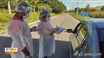 Barreiras começam a funcionar em rodovia que corta aldeias indígenas de Aracruz, no ES - G1