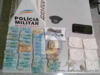 Adolescente de Caratinga é apreendido com R$ 36 mil para comprar droga - Jornal Diário do Aço
