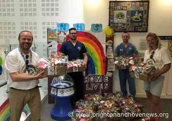 Rockinghorse charity delivers hampers to Brighton children's hospital - Brighton and Hove News