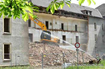 Die nächsten zwei Abrisse in Zittau - Sächsische Zeitung
