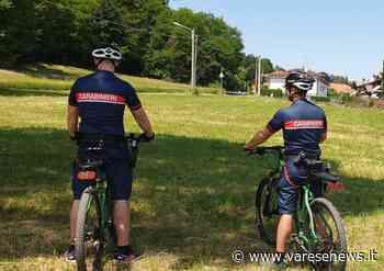 Tradate, carabinieri Forestali in mountain bike nelle aree naturali - Varesenews