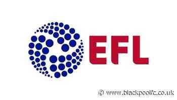 EFL Statement: Board Update