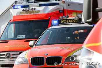 Unfall beim Überholen - Westfalen-Blatt