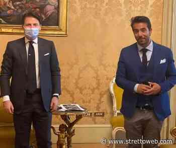 Messina: Zuccarello incontra il Premier Giuseppe Conte e presenta le sue proposte - Stretto web