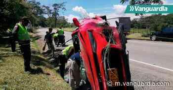 Tres heridos en accidente de tránsito entre Oiba y Socorro, en Santander - Vanguardia