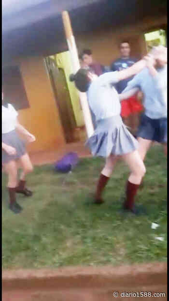 Violenta pelea de mujeres en el barrio Quilmes - 1588