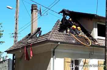 Crégy-lès-Meaux : un incendie détruit partiellement les combles d'un pavillon - Le Parisien