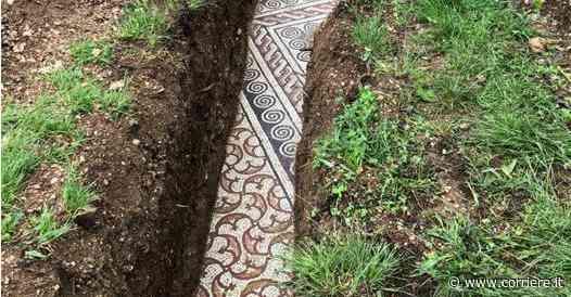 Un tesoro sotto le vigne. Mosaici romani scoperti a Negrar, in Valpolicella - Corriere della Sera