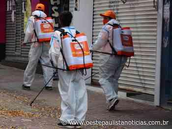 Carapicuiba dá inicio a limpeza de ruas para combater coronavírus - Portal Oeste Paulista