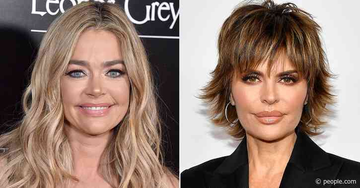 RHOBH: Lisa Rinna Asks Denise Richards If She Tells Daughters About Charlie Sheen's 'Hookers' - PEOPLE