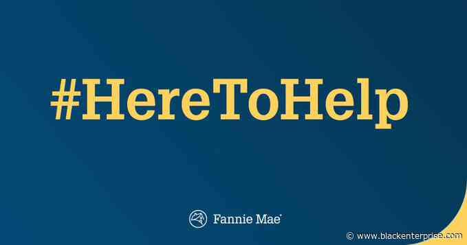 Fannie Mae Launches 'Here to Help' Education Effort - Black Enterprise