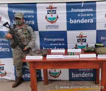 Autoridades encuentran caleta con material de guerra en Los Palmitos - El Universal - Colombia