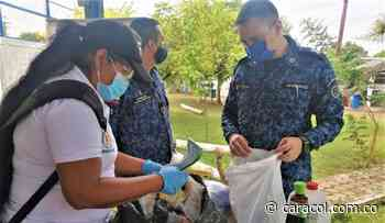 Aplican medidas contra el COVID-19 en la cárcel de Magangué, Bolívar - Caracol Radio