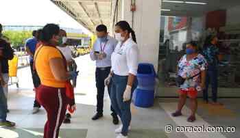 Campañas para prevenir el COVID-19 durante cobro de subsidios en Bolívar - Caracol Radio