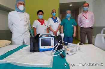 Lanificio Fratelli Piacenza dona defibrillatore per la Rianimazione dell'ospedale di Biella - La Provincia di Biella