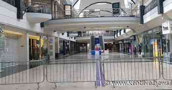 Eerie pictures show Kent's biggest shopping centre utterly deserted - Kent Live