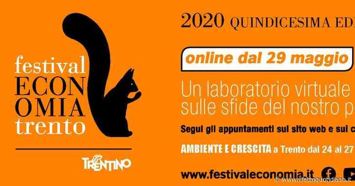 Festival dell'Economia, l'Europa e l'Italia ai tempi del coronavirus: Tito Boeri dialoga con Paolo Gentiloni e Vittorio Colao. La diretta