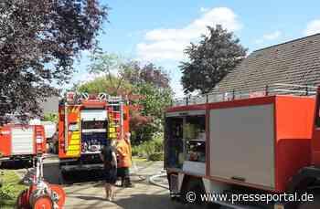 FW-ROW: Kellerbrand in Sottrum führt zu Sachschaden