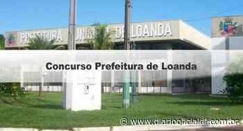 Concurso Prefeitura de Loanda PR: Inscrições Encerradas - DIARIO OFICIAL DF - DODF CONCURSOS