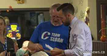 Derek Sloan, Belleville-area Liberal association feud over MP's gun stance