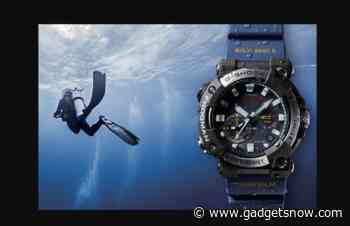 Casio GWF-A1000 Frogma watch with Bluetooth launched at $800 - Gadgets Now