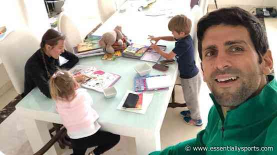 Inside Novak Djokovic's Luxurious House With Tennis Court Where He and His Family Were Quarantined - Essentially Sports