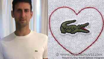 Novak Djokovic stars in Lacoste ad with heartwarming message for COVID-19 warriors: Watch - Republic World - Republic World